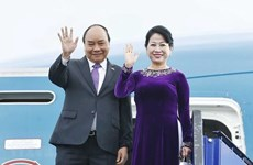 越南政府总理阮春福启程出席G20峰会和访问日本