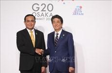 G20峰会:泰国与日本关系将继续稳定向前发展