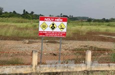 越南成立消除有毒化学物质危害和克服环境事故国家行动中心