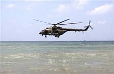 印度尼西亚动员力量寻找失联的MI-17直升机