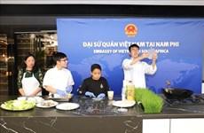 越南为南非东盟文化节的成功做出积极贡献