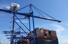 海防市国际集装箱码投运一年后集装箱吞吐量超过18.7万标准箱