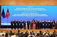 《越南 - 欧盟自由贸易协定》:促进东盟与欧盟的合作