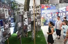 """""""和平日记""""专题展览在河内火炉监狱遗迹区进行"""