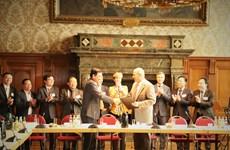 越南隆安省与德国莱比锡市签署贸易与投资合作备忘录