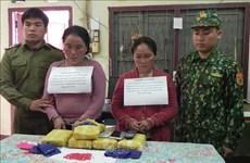 山罗省抓获私藏毒品的三名老挝籍犯罪嫌疑人