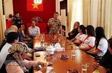 传统武术让越南与阿尔及利亚两国关系更加密切