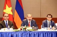 越南与亚美尼亚深化各领域合作