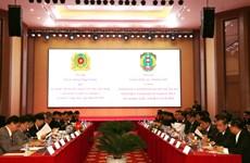 越南与老挝加强犯罪预防打击合作