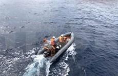 越南为泰国寻找在海上失踪的5名公民提供协助