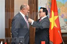 越南共产党代表团对俄罗斯进行工作访问
