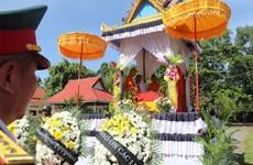 柬埔寨向越南移交22具援建志愿军烈士遗骸