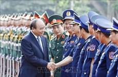 阮春福:越南海警责任重大使命光荣