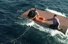 成功营救海上遇险油船
