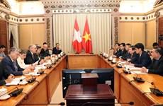 瑞士努力加快越南与欧盟自由贸易联盟自贸协定谈判进程