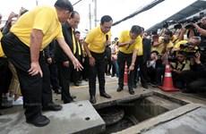 """泰国曼谷兴建 """"水银行""""严防城市内涝"""