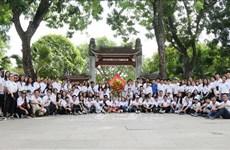 2019年越南夏令营:越侨青年造访胡伯伯老乡