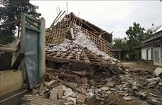 印尼北马鲁古省发生7.3级地震  部分房屋被毁