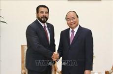 政府总理阮春福会见巴拿马驻越大使萨姆迪奥