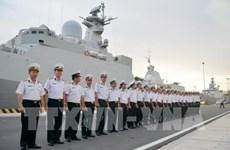 """越南海军016""""光忠""""号导弹护卫舰访问俄罗斯并参加阅兵"""