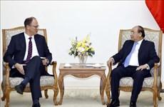 阮春福总理会见德国驻越大使克里斯蒂安•贝格