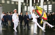 政府总理阮春福出席越南著名数学家黄瘁追悼会