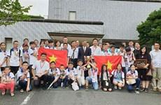 参加世界数学邀请赛的所有越南学生都获奖