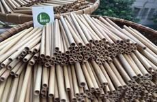 成功出口竹制吸管的竹笛制作艺人