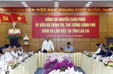 阮春福总理:老街省应努力跻身越南省份15强名单