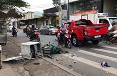 今年上半年交通事故起数下降但交通拥堵严重