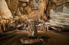 广平省天堂洞成为亚洲最壮观的天然溶洞穴