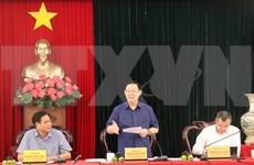 政府副总理王廷惠莅临富安省调研