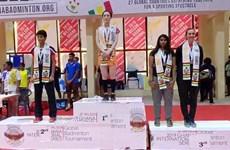 越南选手武氏庄获得2019年度的加纳羽毛球国际赛冠军