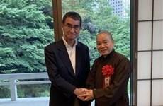 4名越南人荣获日本外务省奖状