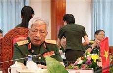 第一次越南-老挝国防政策磋商在万象举行