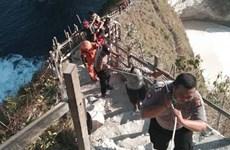 将在印尼巴厘岛遇难的越南游客遗体运送回国