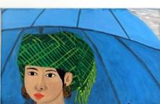 """越南一位听障画家的作品""""母亲与孩子""""在意大利展示"""