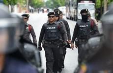 泰国警方保障第52届东盟外长会议的安全