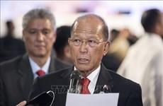 菲律宾国防部长谴责中国在东海的行径