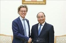 越南政府希望越瑞两国双向贸易额不断增加