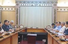 胡志明市呼吁新加坡对基础设施和环境领域进行投资