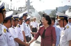 越南海军坚守岗位 捍卫祖国海洋领土主权