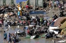 印度尼西亚发生7.4级地震 首都震感强烈