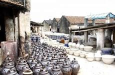 钵场陶瓷村将成为河内手工艺村旅游的一大亮点