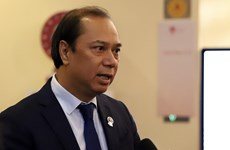 越南外交部副部长阮国勇:东海问题引起东盟外长会议的关注