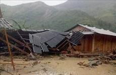 第三号台风环流给越南许多地方造成重大损失