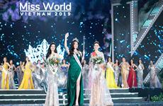 2019年越南世界小姐大赛:梁垂玲佳丽摘下桂冠