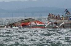 菲律宾渡轮和快艇翻沉事件致使数十人死亡