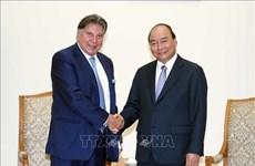 越南政府总理阮春福会见TTI集团董事长