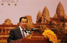 柬埔寨首相洪森:柬不会成为恐怖分子藏身和洗黑钱的窝点